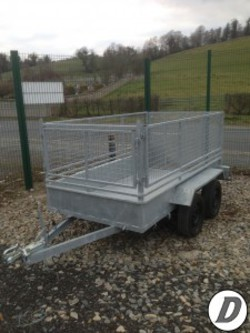 Galvanised  8 x 4 trailers