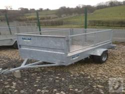 mcm 7x4 trailer