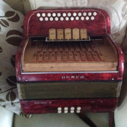 Hohner Amatona C#/D Button Key 4 voice accordion  for sale