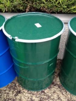 205 metal barrel *air tight* clip lid