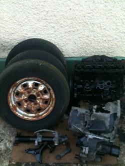 Ford escort mk3 engine & gearbox