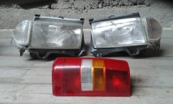 Fiat Scudo van lights