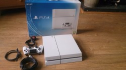Playstation 4 500GB (white)+extras for sale