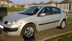 2005 Renault Megane Saloon Silver for sale