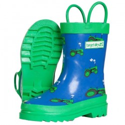 Brand New Target Dry Tractor Wellies Kids size 11 unworn * NEW* for sale