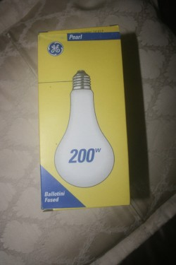 110 volt 200w Bulbs