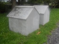 concrete pump house