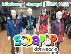 Sodapop Kidswear for sale
