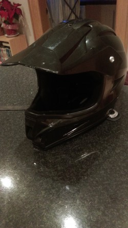 Downhill full face mountain bike helmet
