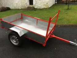 Car/quad trailer 6x4 for sale