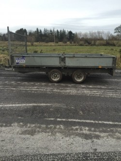 2007 12 x 6'6 ft Ifor Williams Dropsides trailer