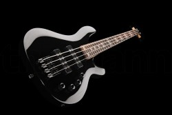 NEW 4 String Electric Bass Guitar With Active Pick ups BLACK