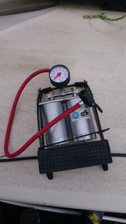 Bycicle car camping Foot pump