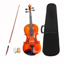 NEW 1/2 SIZE VIOLIN WITH CASE + BOW + rosin