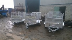 New 7x4 trailer galvanised