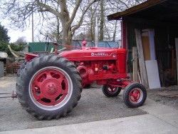 McCormick International Farmall Tractor