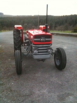 Massey Ferguson 135 - Two Tractors for sale for sale