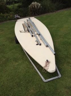 Laser dinghy