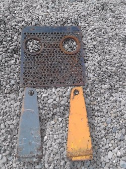 massey ferguson digger front grill and sides,,