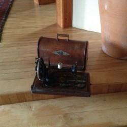 Antique Singer hand sewing machine