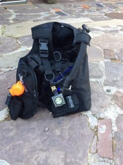 BCD diving jacket