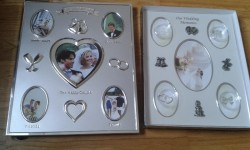 wedding day photo frames