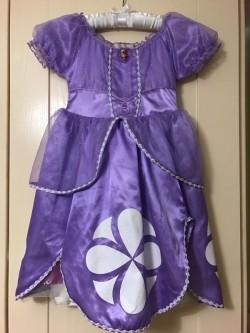 Sofia the First genuine Disney dress