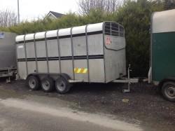 Hudson livestock trailer