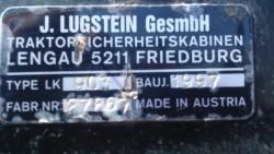 Lugstein cab frame for Same LP80, Lamborghini Cross 874/70, 874/80