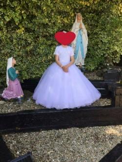 One off designer first communion dress
