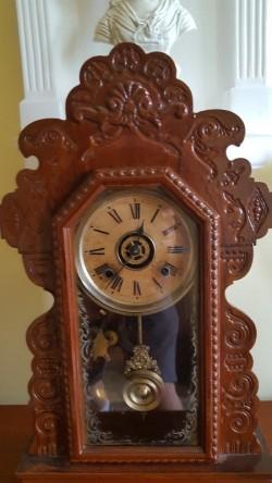 Ginger bread clock