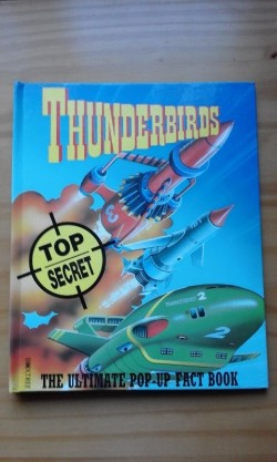 Thunderbirds pop up book.