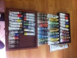 50 x Quality Brand Oil paints + oil
