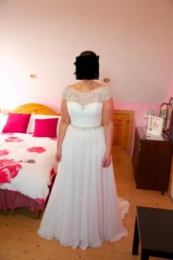 Wedding Gown - By Justin Alexander