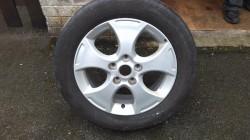 16 inch alloy wheel rim for a Kia motor as a  spare wheel