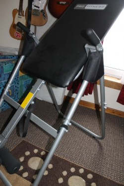 inversion table.