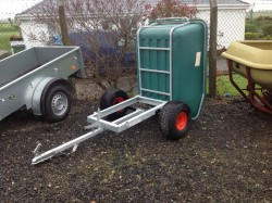 Quad tipping trailer