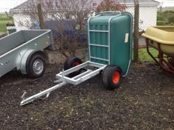Quad tipping trailer