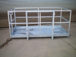 JCB Manlift basket (8ft x 4ft) galvanised
