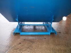 Forklift tipping skip roll over forklift skip