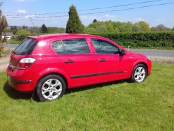 Vauxhall astra  1.7 diesail 05