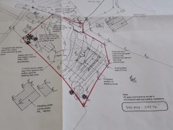 Site for sale in Glenties, Co. Donegal