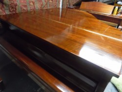 modern baby grand piano by hyundai superb condition