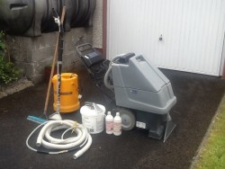 Nilfisk carpet and upholstery cleaning equipment