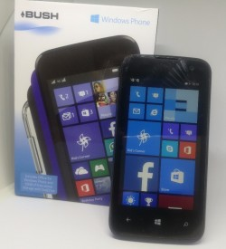 BUSH WINDOWS 8.1 MOBILE PHONE UNLOCKED TO ANY NETWORK IN MINT CONDITION