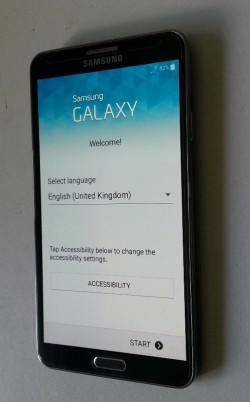 Samsung galaxy Note 3 smartphone, 32gb black.