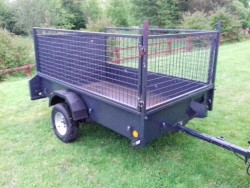 Ifor williams p6e Galvanised trailer