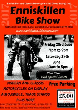 Enniskillen Motorcycle Show