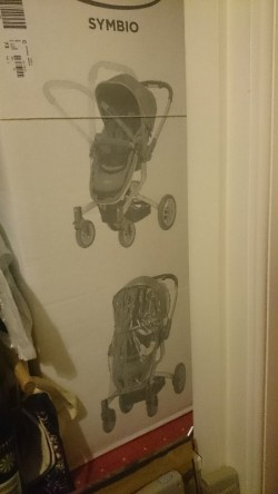 Graco Symbio 3 in 1 travel system