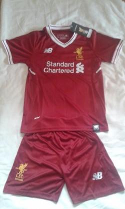 Man Utd, Liverpool ,Celtic Barcelona football kits